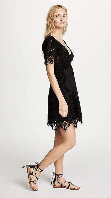Temptation Positano Maui V Neck Short Sleeve Dress