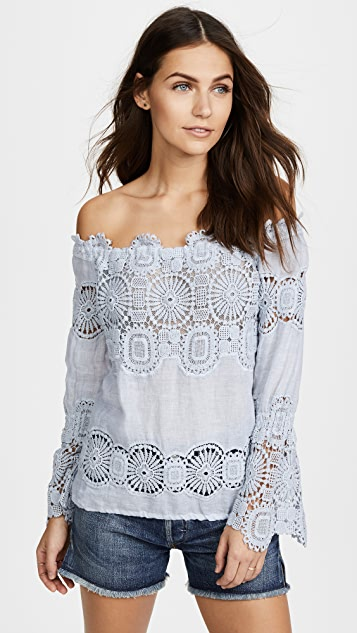 Temptation Positano Lau Off the Shoulder Top