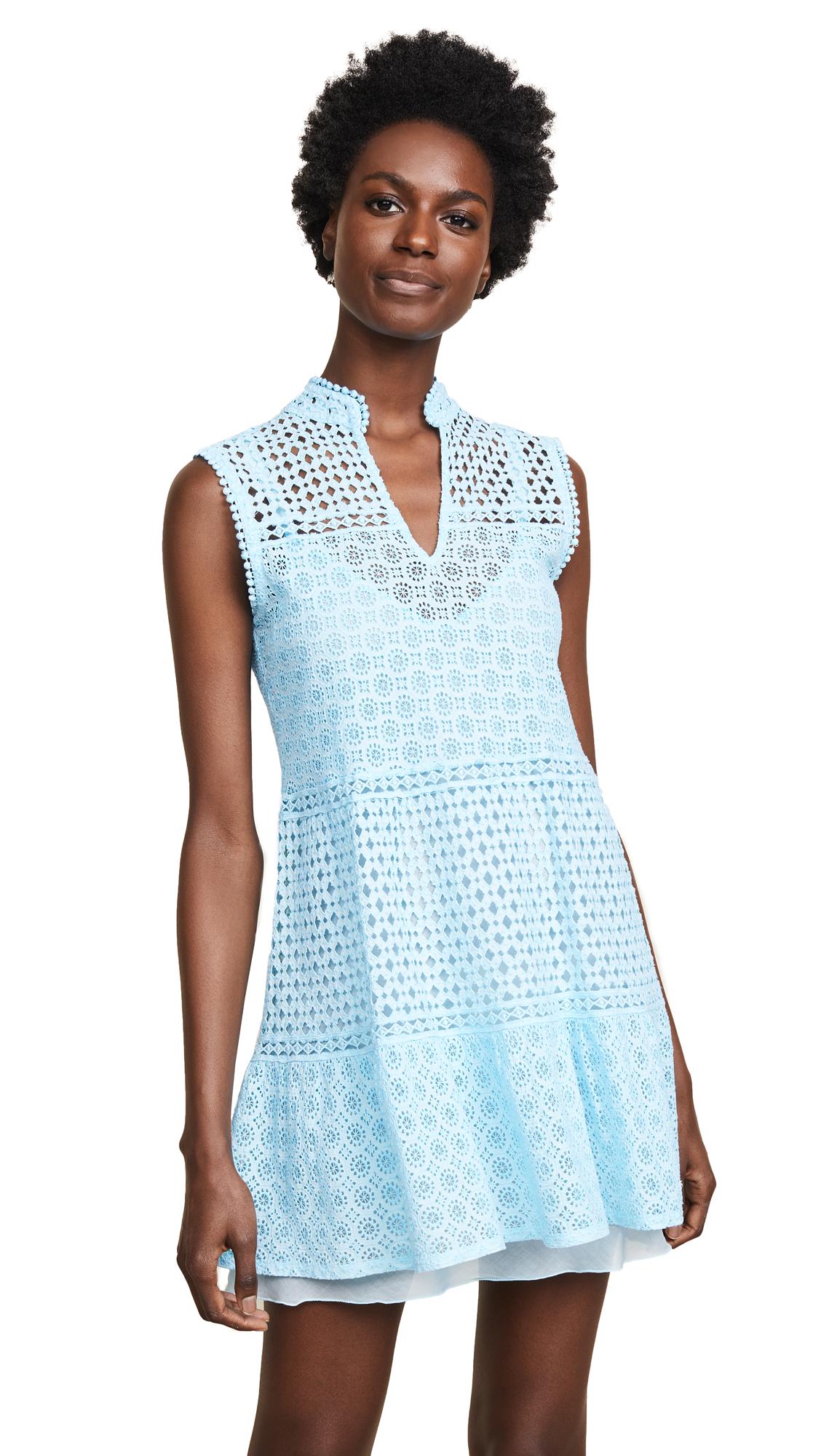 Temptation Positano Vest Dress In Turchese