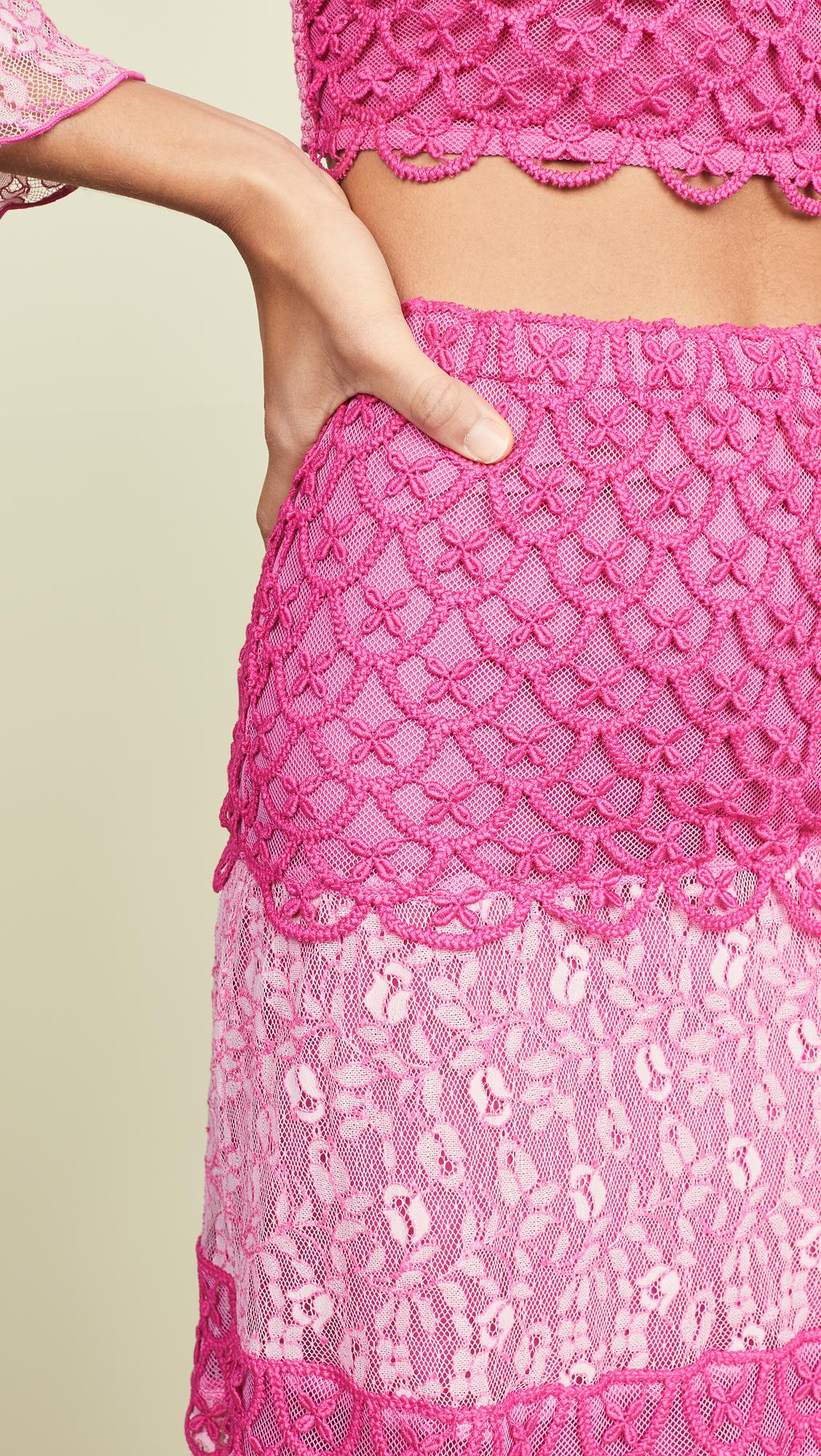 16b967708a8d Temptation Positano Cremona Maxi Skirt   SHOPBOP