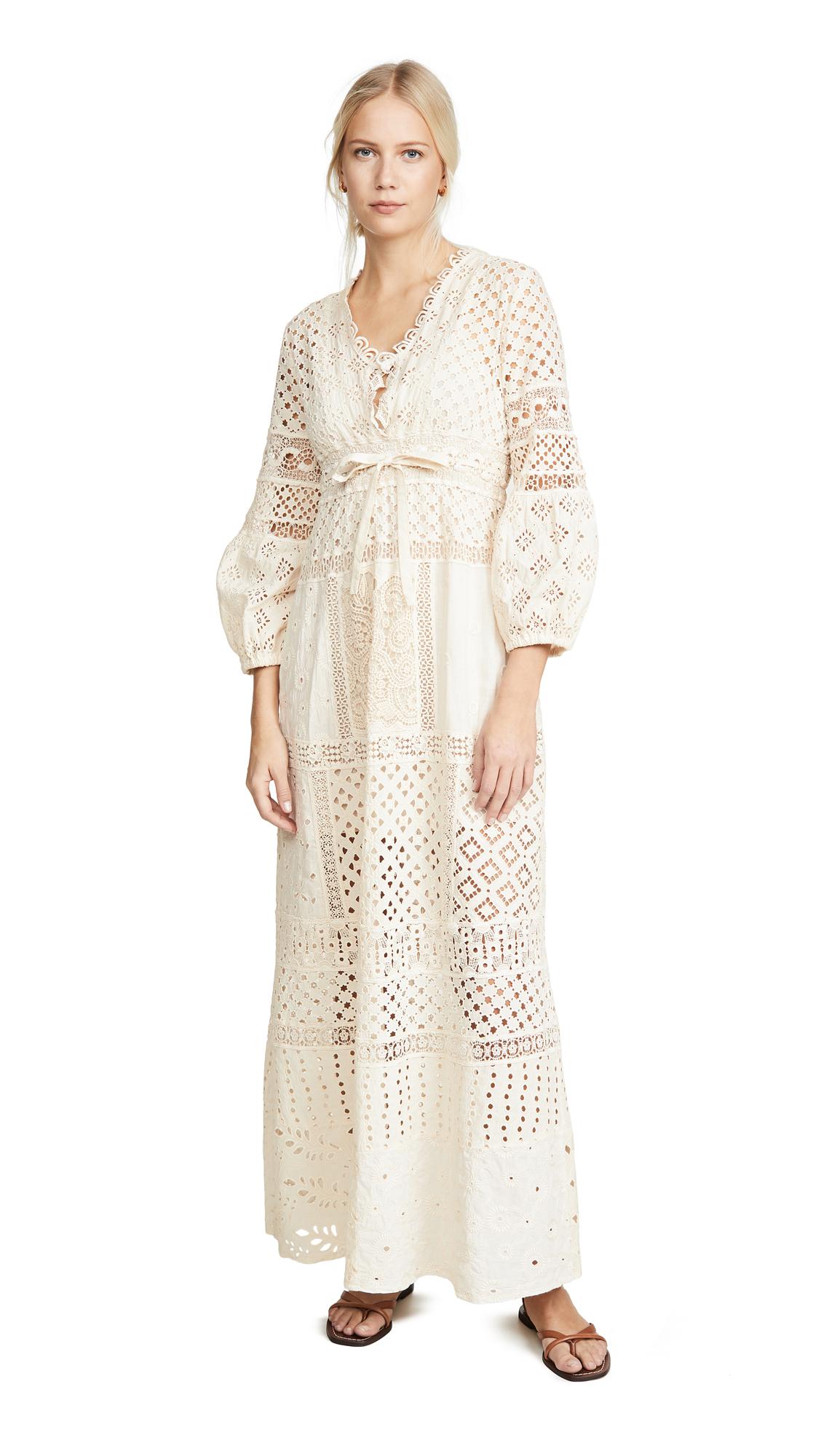 Buy Temptation Positano online - photo of Temptation Positano V Neck Long Sleeve Dress