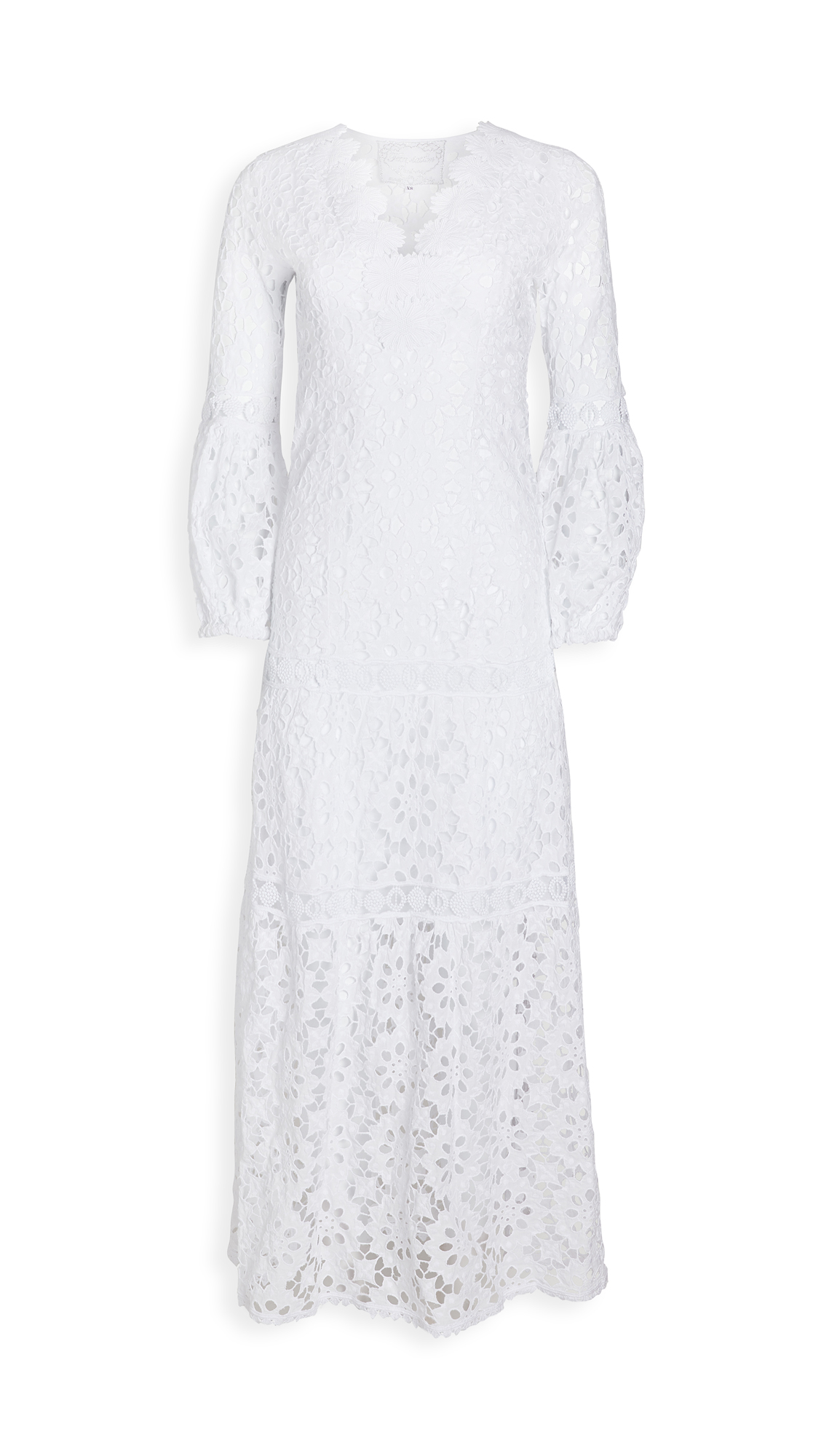 Temptation Positano Argentino Daisy Lace V Neck Gown - 30% Off Sale