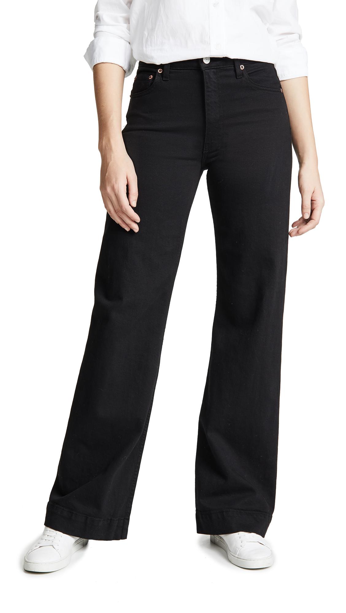 Joan Trouser Jeans in Paint It Black