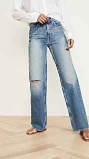 TRAVE Joan Full Wide Leg Jeans
