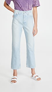 TRAVE Gia Crop Straight Jeans
