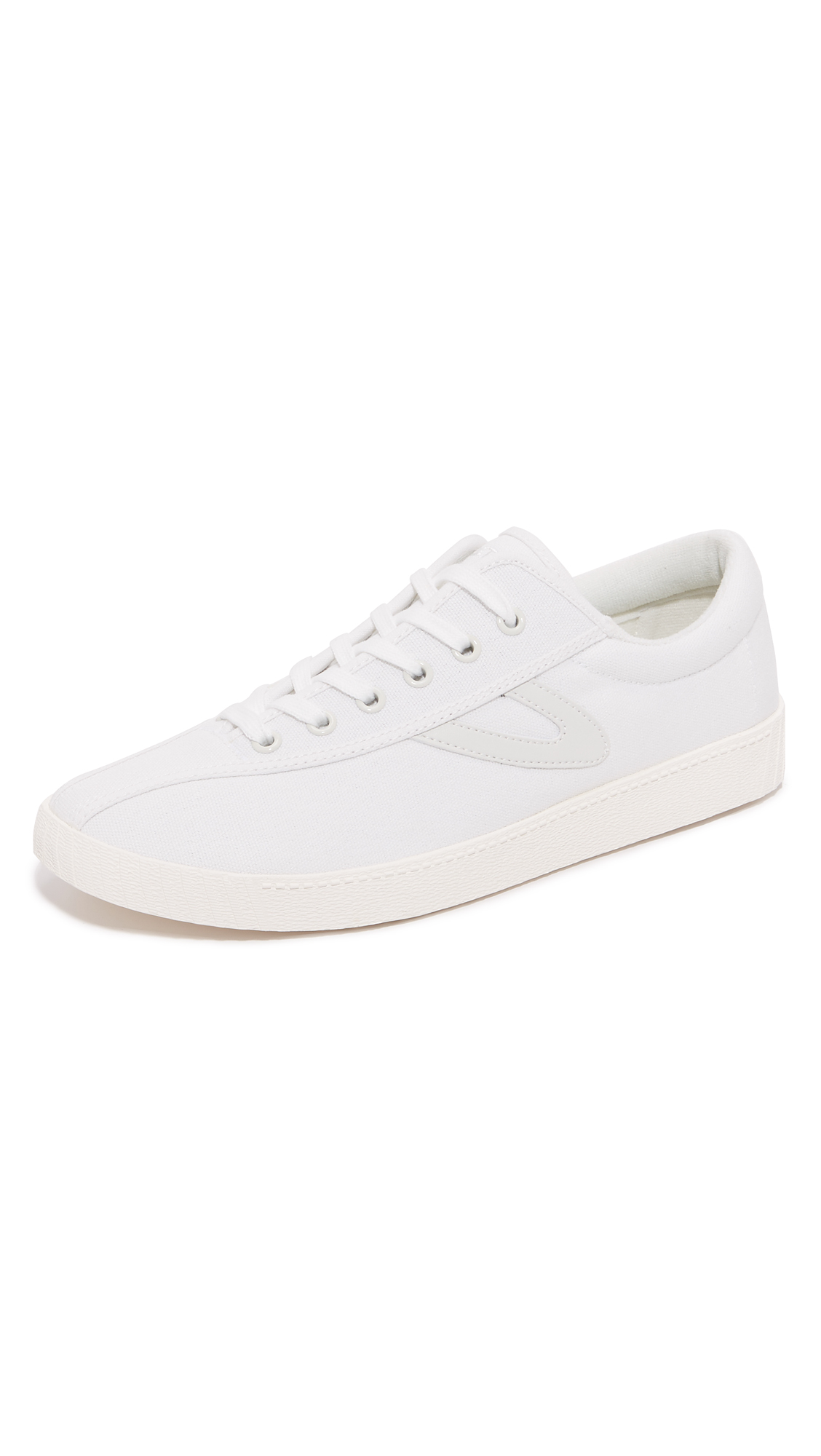 TRETORN Men'S Nylite Plus Lace Up Sneakers in White
