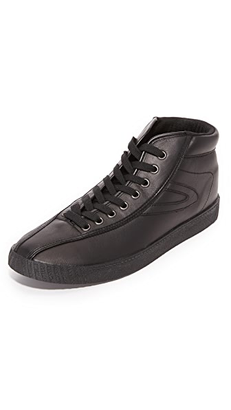 Tretorn Leather Nylite Hi 2 Sneakers