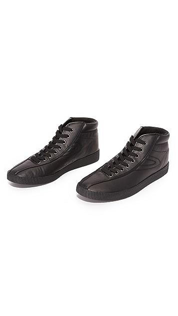 Tretorn Leather Nylite Hi 2 Sneakers