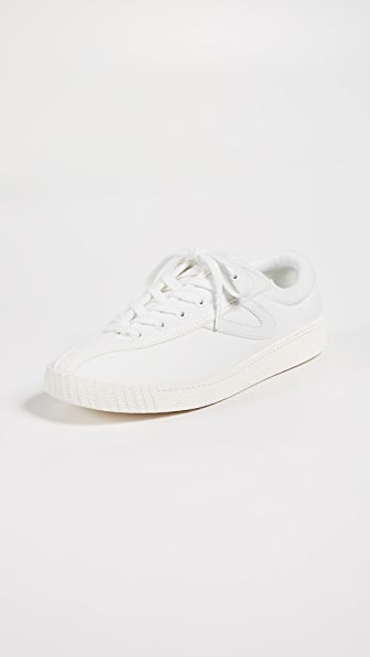 Tretorn Women's Nylite Plus Lace Up Sneakers In White