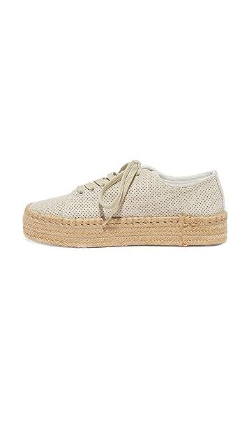 Tretorn Eve Suede Espadrille Sneakers
