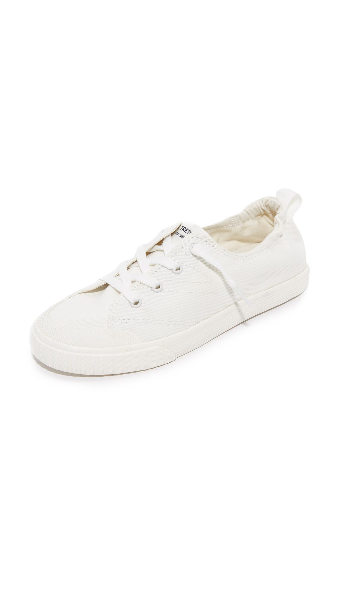 Tretorn Meg Denim Sneakers - Vintage White