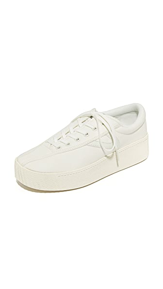 Tretorn Nylite Bold Platform Classic Sneakers - Vintage White