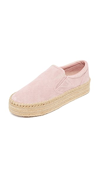 Tretorn Emilia Platform Espadrille Slip On Sneakers - Blush