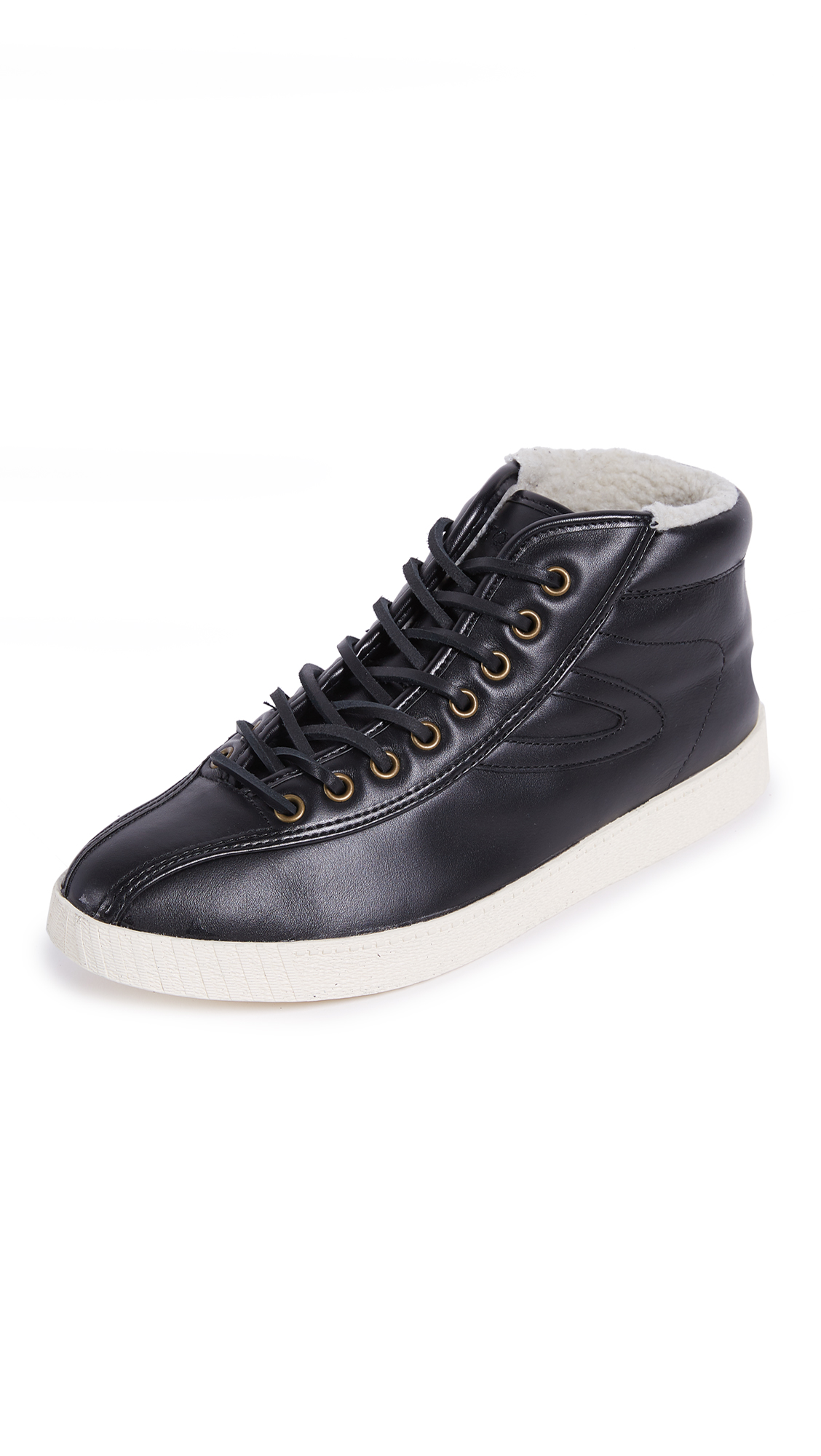 Tretorn Nylite High Leather Sneakers