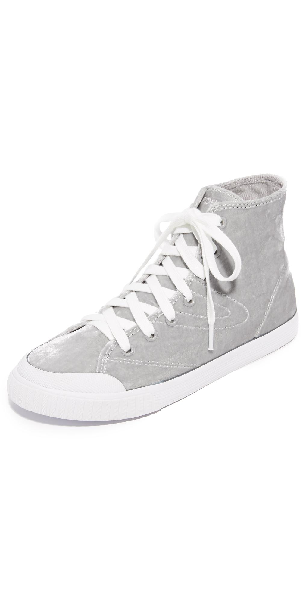 Marley Velvet High Top Sneakers Tretorn