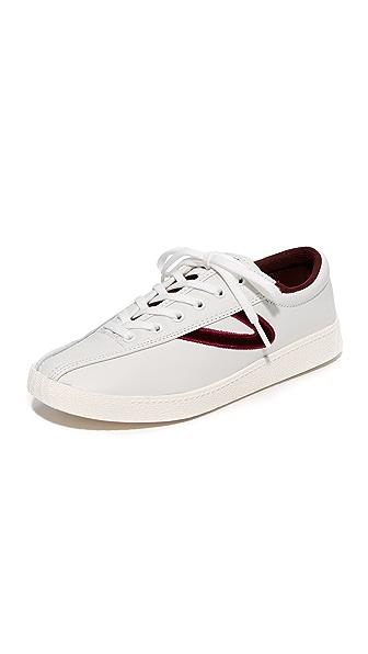 Tretorn Nylite 15 Plus Sneakers - White/Rubino