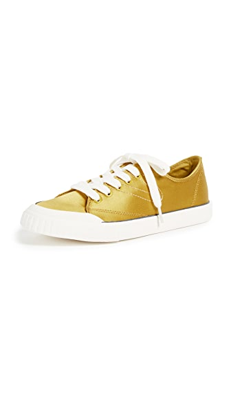 Tretorn Marley Classic Sneakers In Yellow/Tretorn White