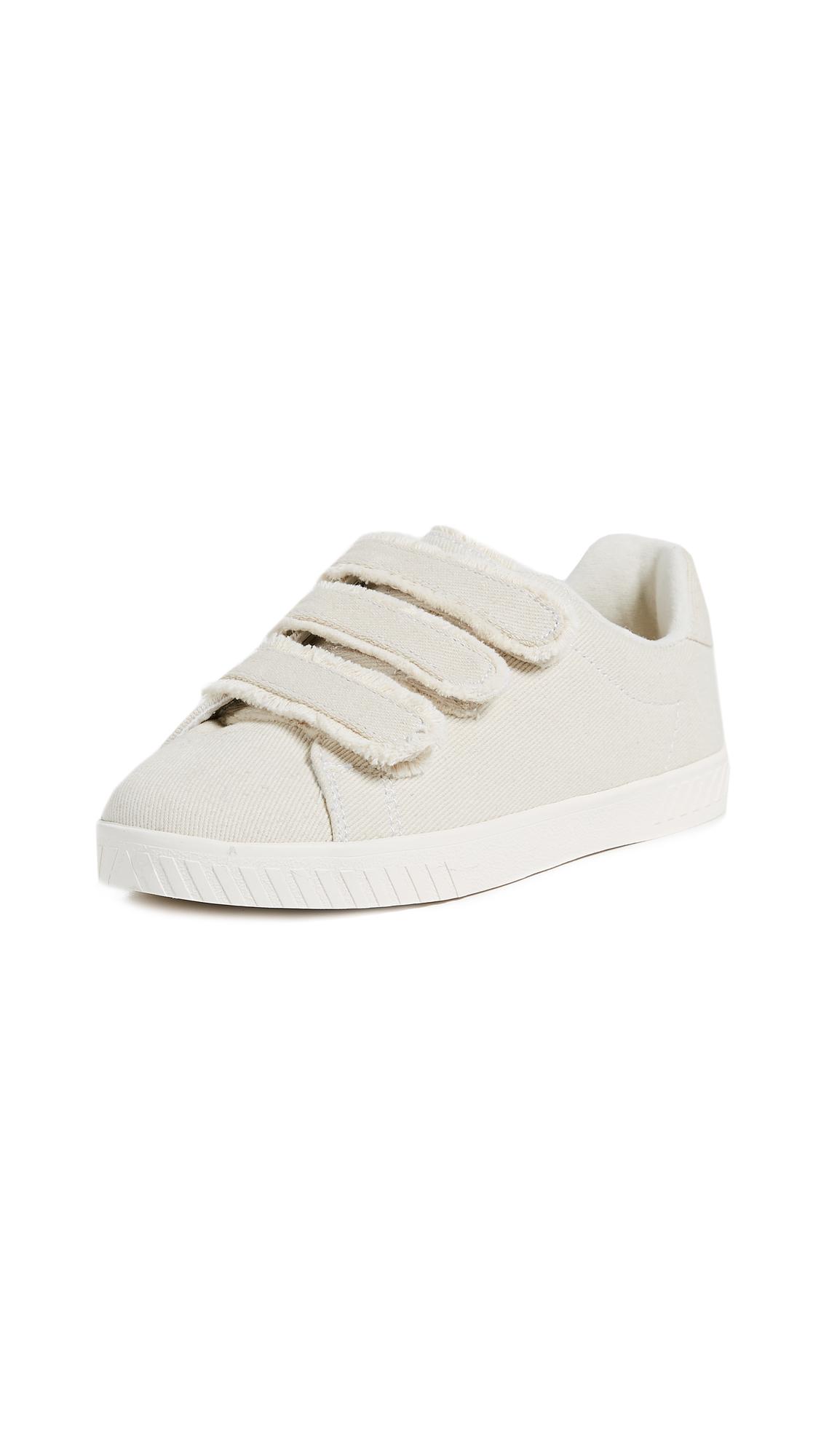 Tretorn Carry Fringe Velcro Sneakers - Ivory