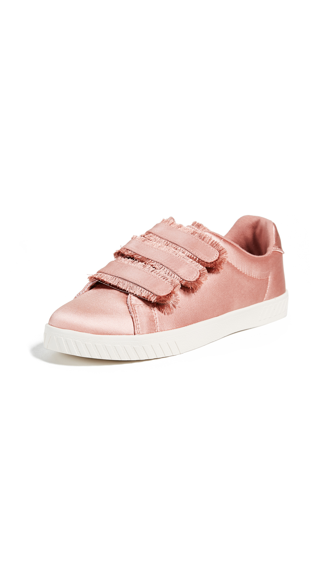 Tretorn Carry Fringe Velcro Sneakers - Salmon