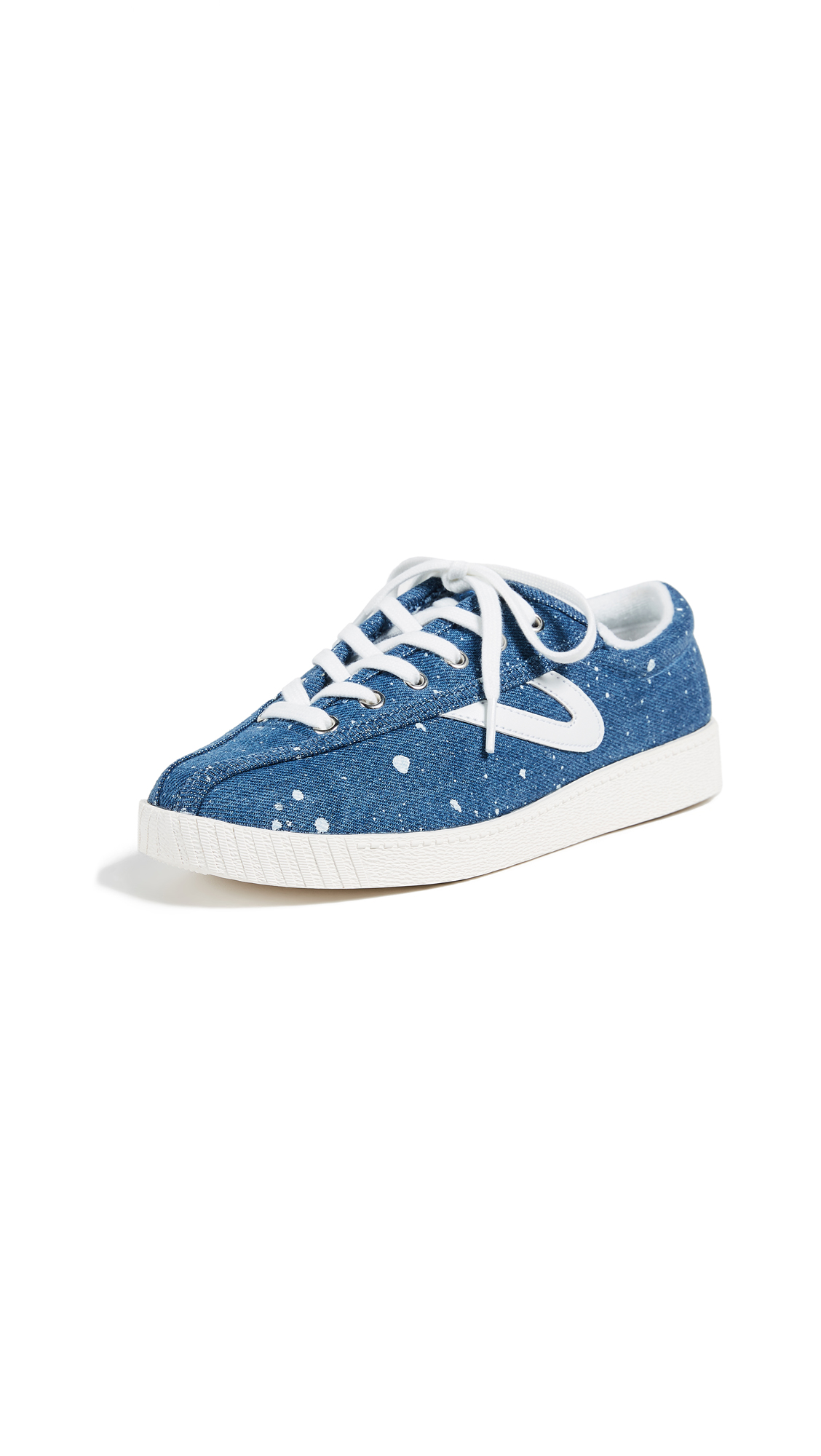Tretorn Nylite Plus Lace Up Sneakers - Dark Blue