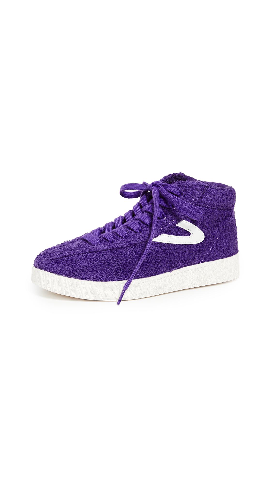 Tretorn Terry High Top Sneakers - Vibrant Purple