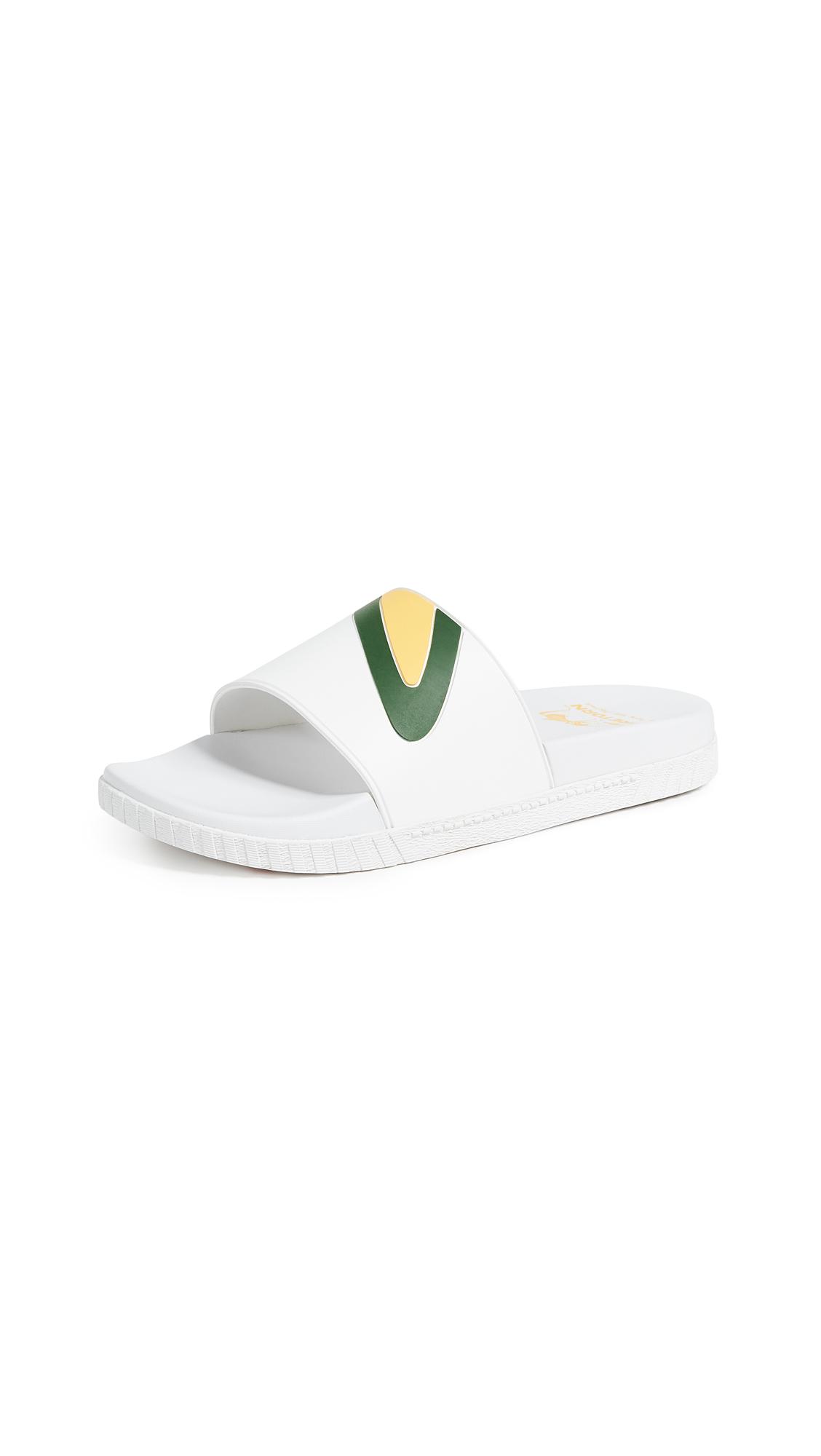 Tretorn Pool Slides - Vintage White