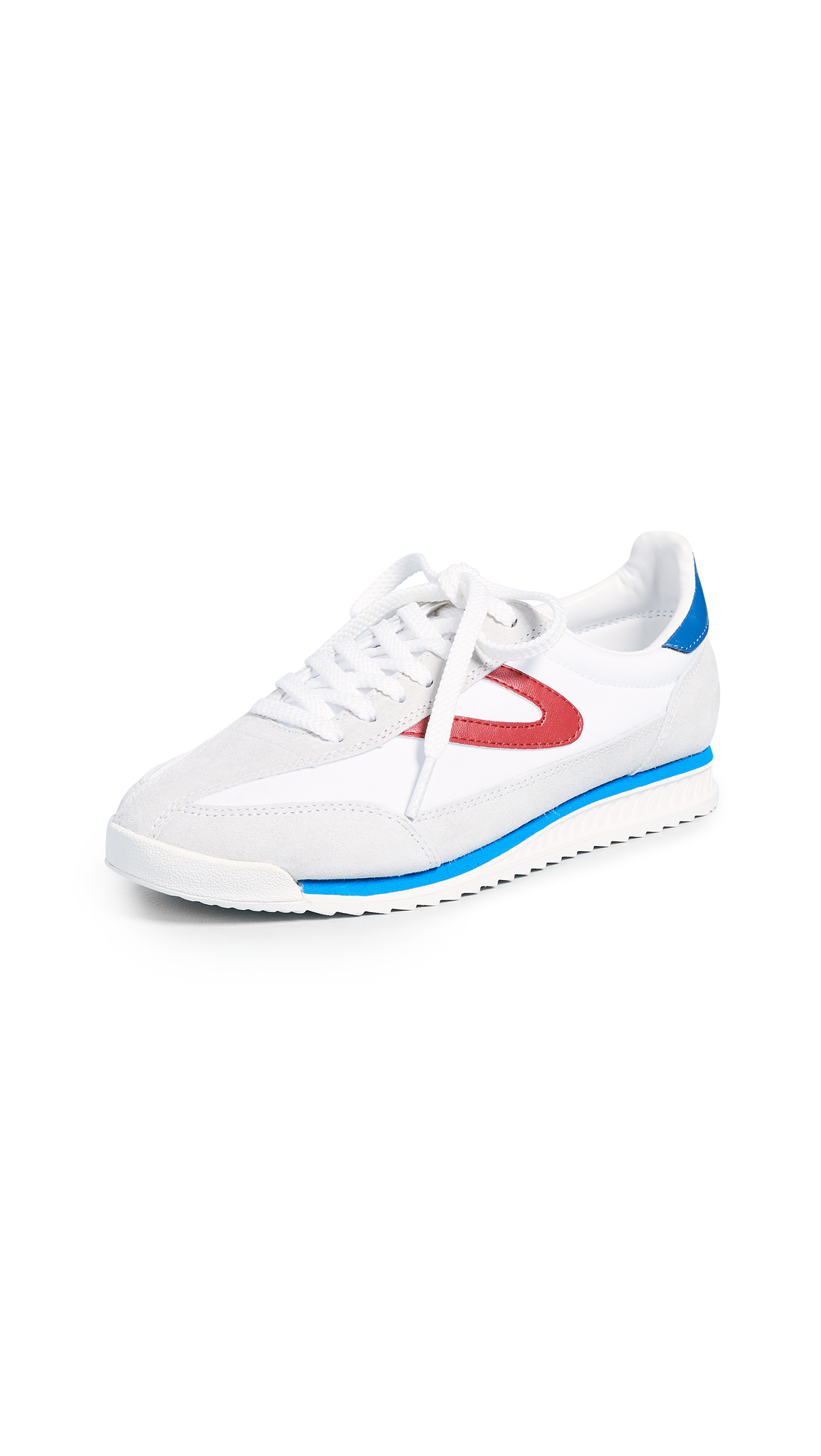 Tretorn Rawlins III Joggers - Off White/White/Red/Blue