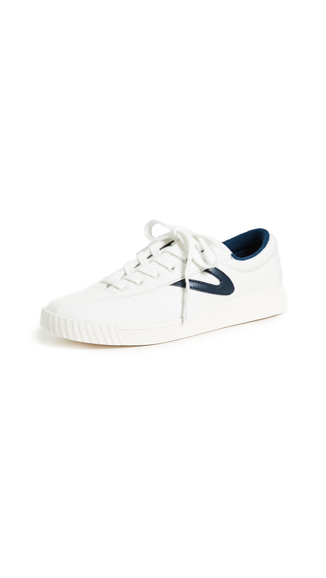 Tretorn Nylite Plus Lace Up Sneakers - White/Night