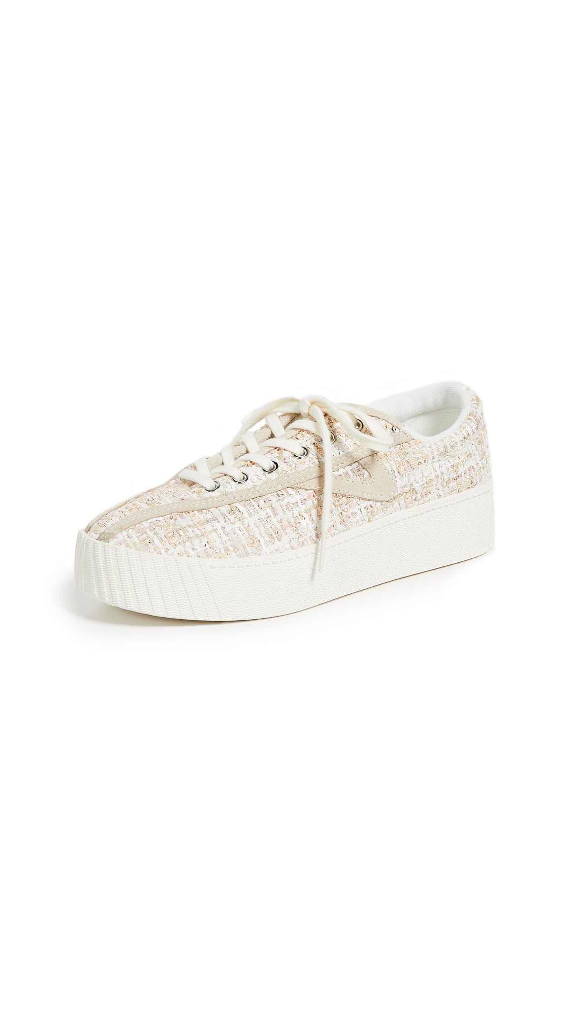 Tretorn Bold Sneakers - Cream