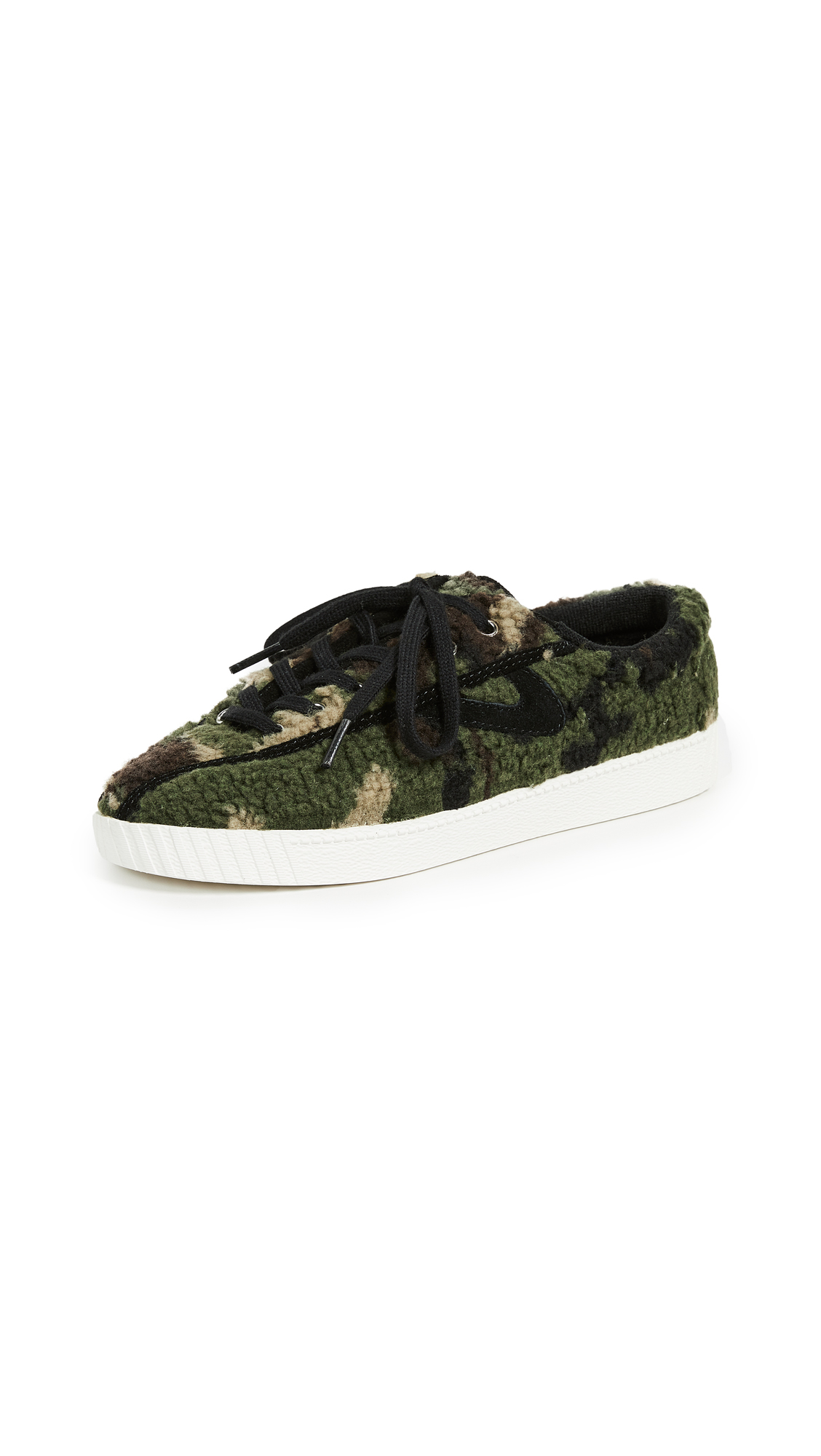 Tretorn Nylite Sherpa Lace Up Sneakers