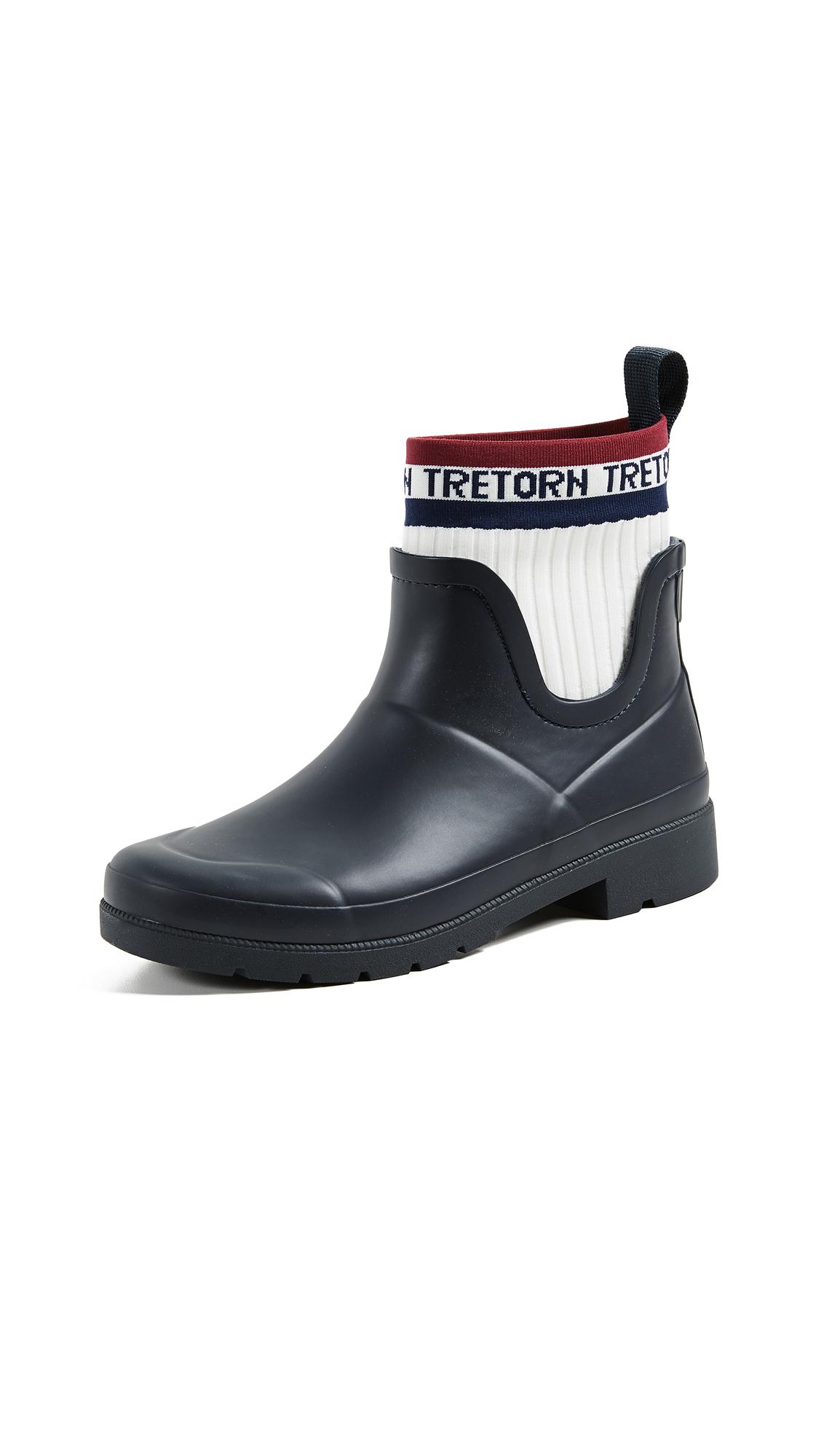 Tretorn Lia Rain Boots - Night/Vintage White