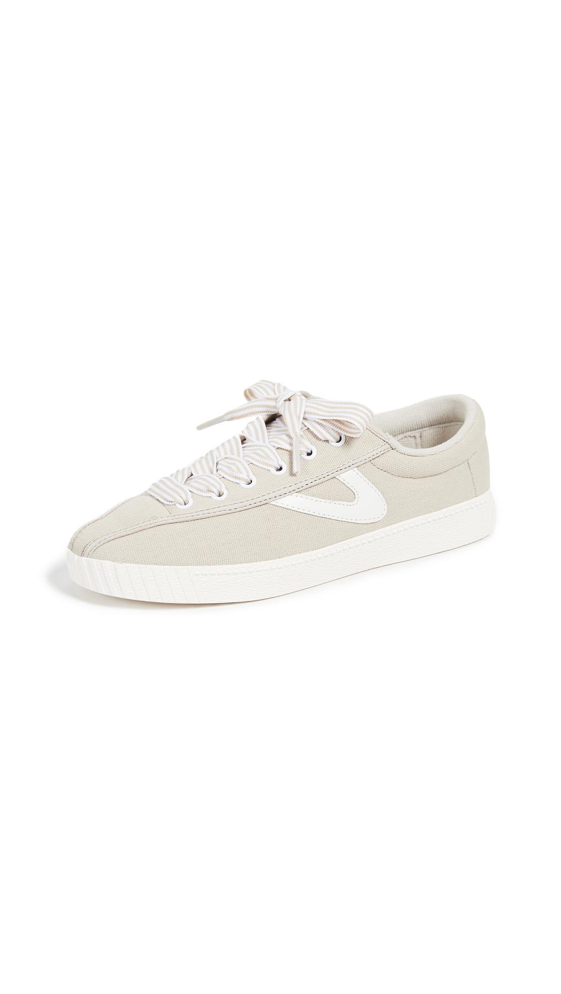 Tretorn Nylite 28 Plus Sneakers - Stone/Vintage White