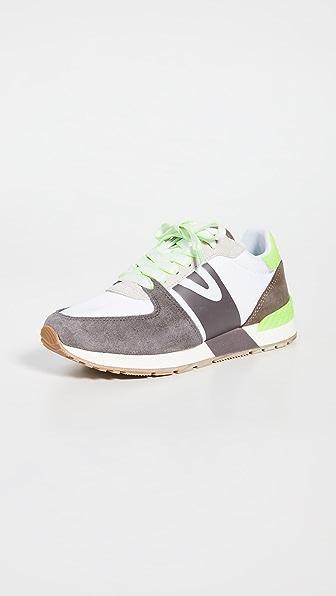 Tretorn Loyola 2 Sneakers In Concrete/white/lava Stone/icin