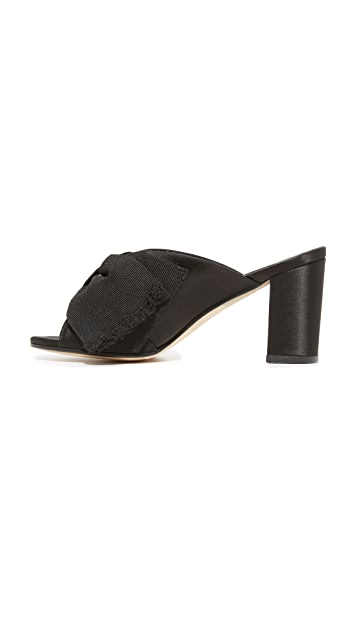 Trademark Madeleine Mules with Bow