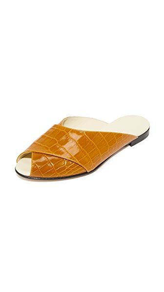 Trademark Pajama Sandals - Camel
