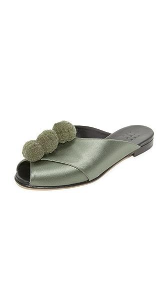 Trademark Pom Pom Sandals