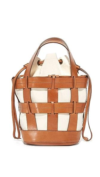 Trademark Объемная сумка с короткими ручками Cooper Cage