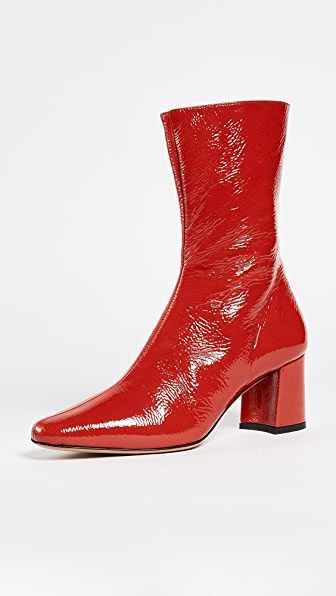 Trademark Mira Mid Booties - Red