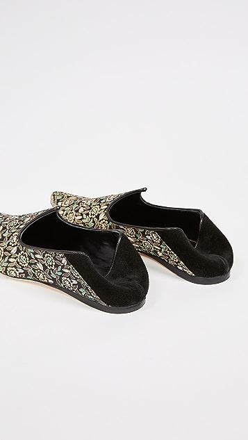 Trademark Lewitt Brocade Slippers