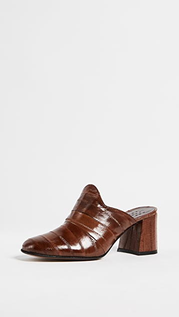 Trademark Frances Heeled Mules