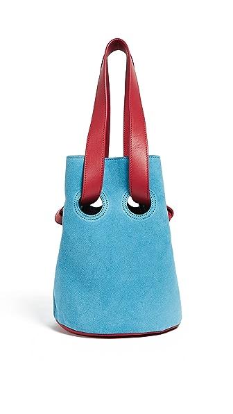 Trademark Goodall Suede Bucket In Sea Blue