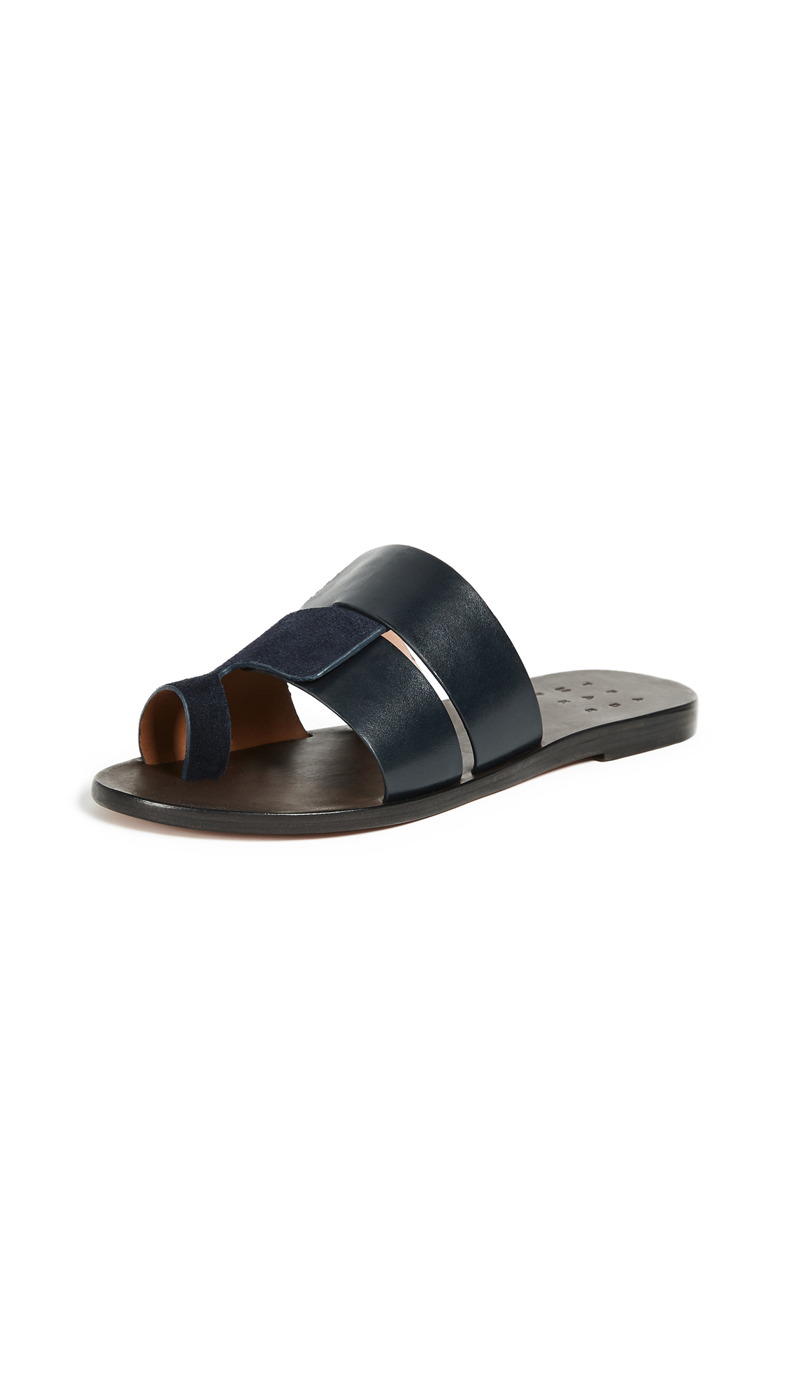 Trademark Cadiz Sandals - Navy