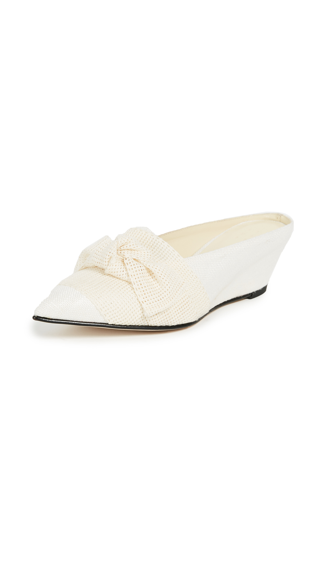Trademark Adrien Tie Slides - Cream/White