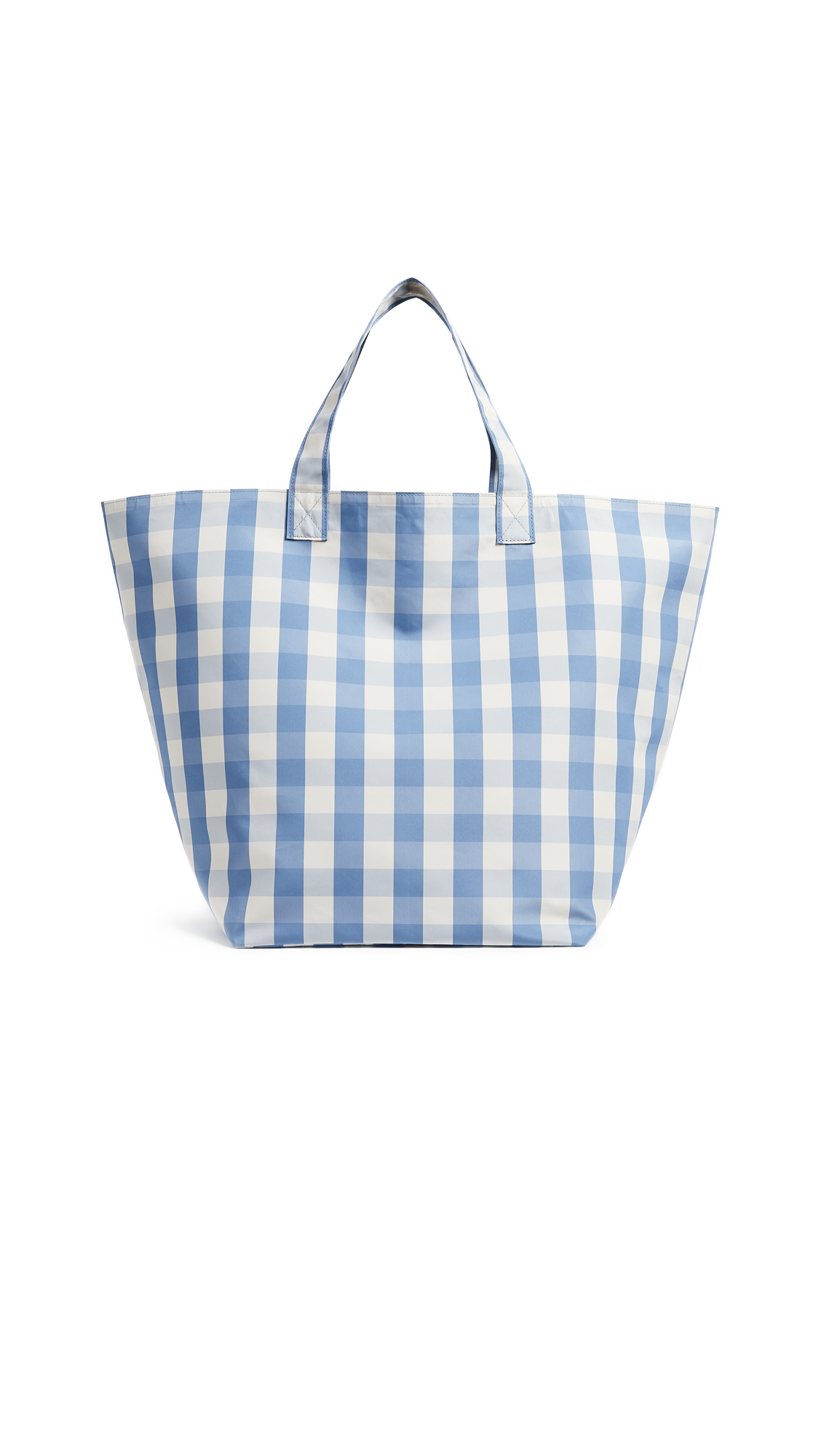 Trademark Large Gingham Grocery Bag