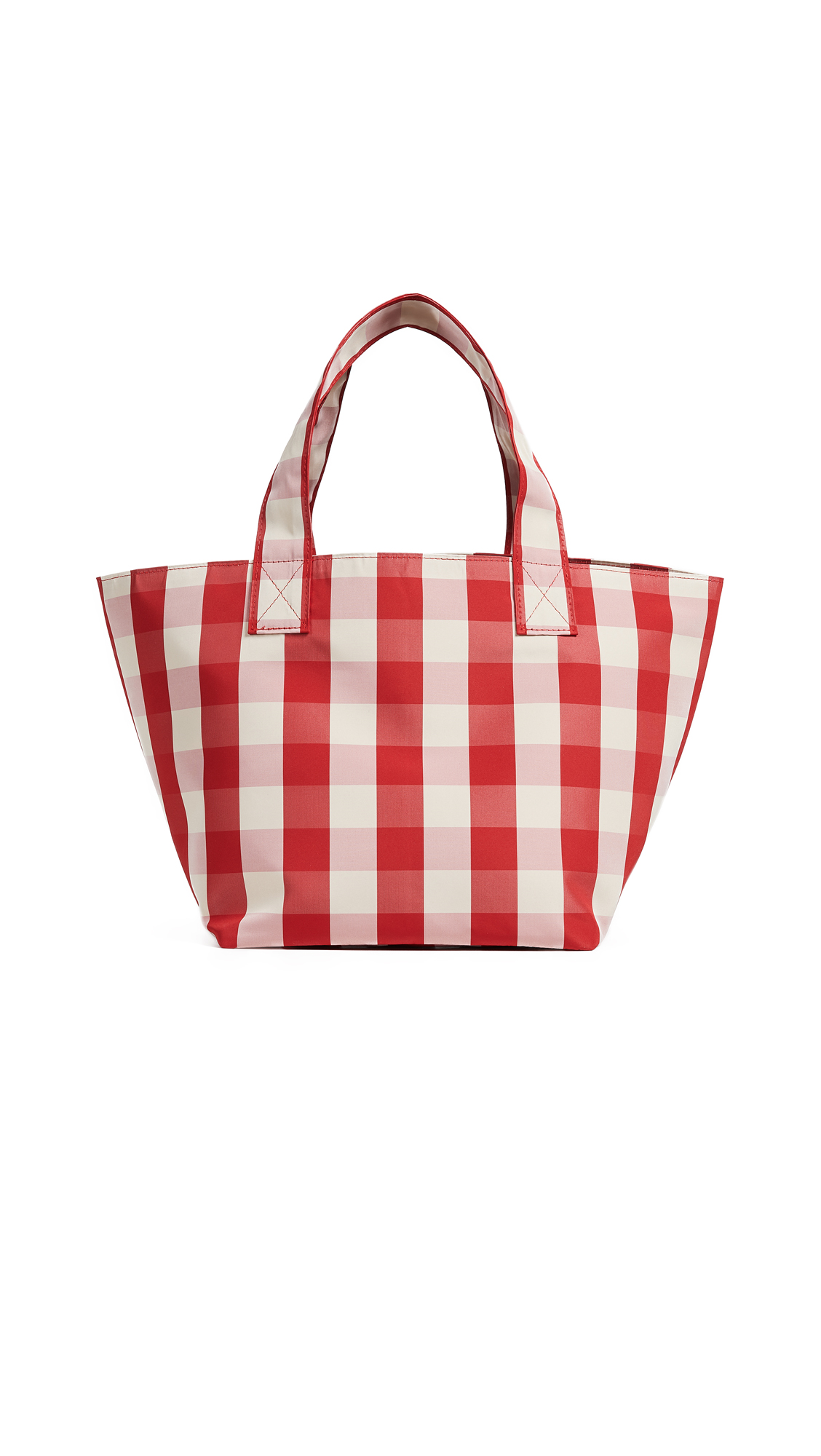 Trademark Small Gingham Grocery Bag