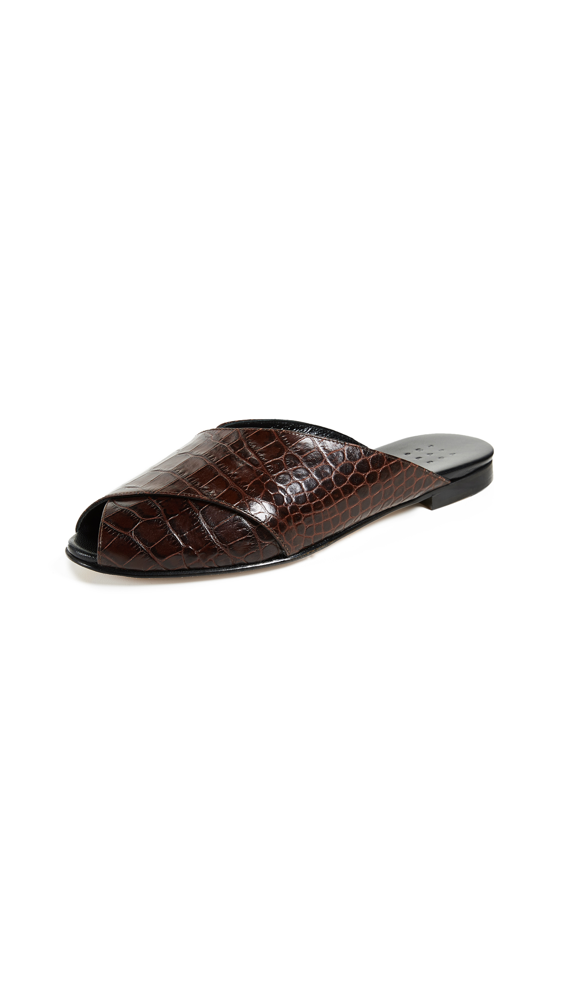 Trademark Pajama Croc Sandals - Chocolate Brown