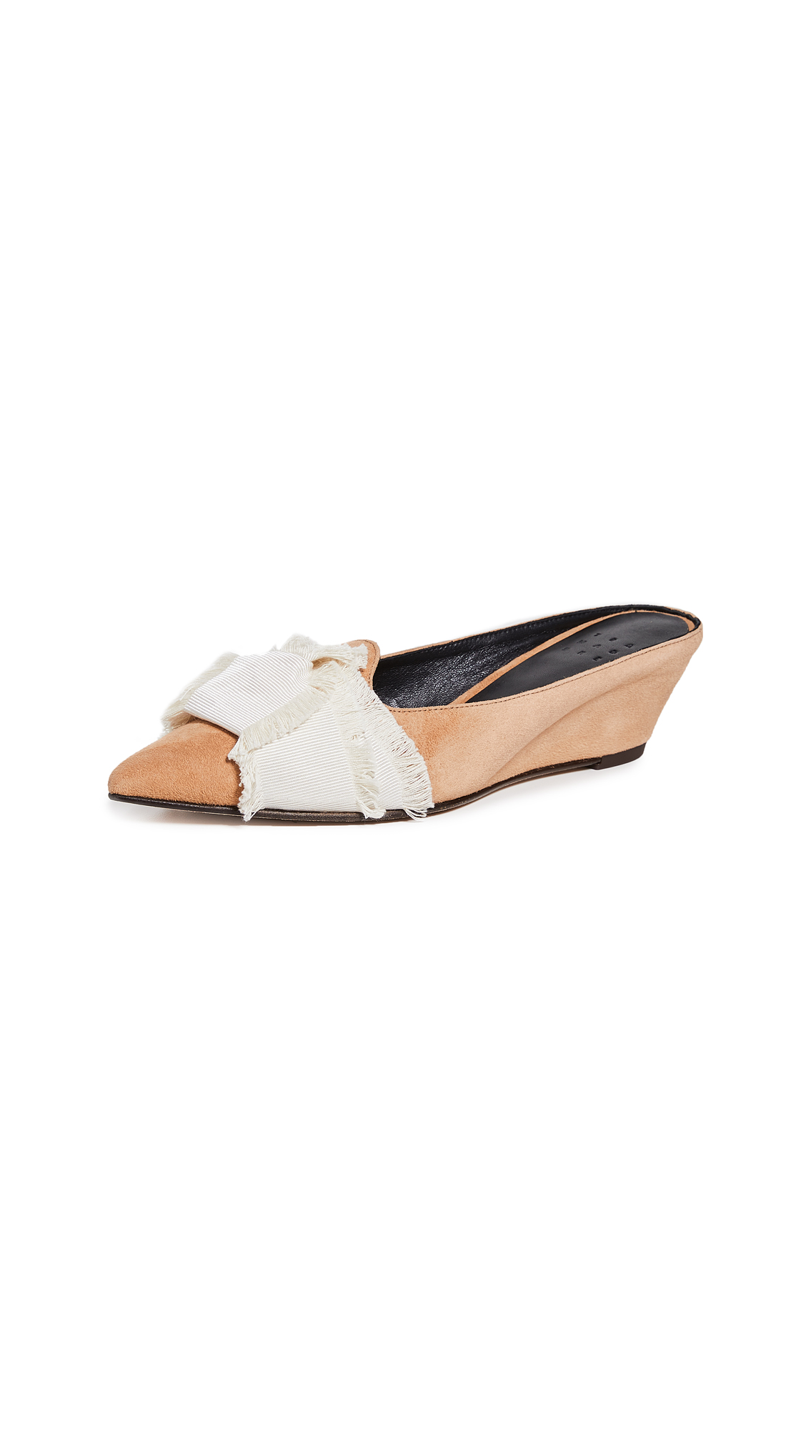 Trademark Knot Adrien Mules - Apricot