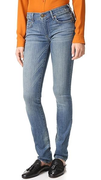 True Religion Mid Rise Cora Straight Jeans