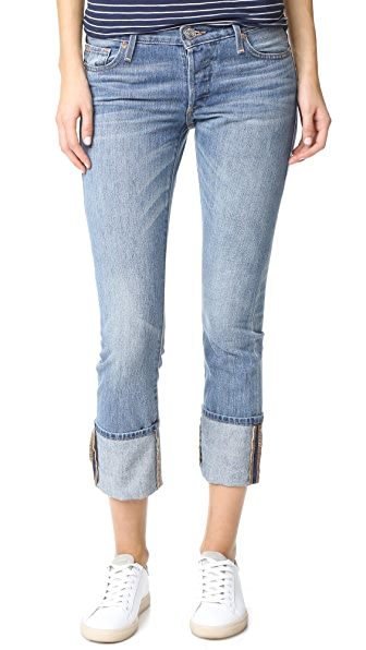 True Religion Liv Low Rise Relaxed Skinny Jeans