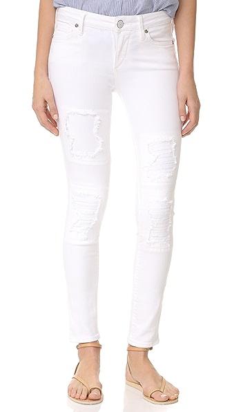 True Religion Halle Super Skinny Crop Jeans